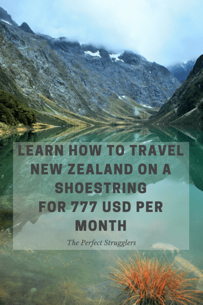 Budget travel New Zealand NZ shoestring backpacking