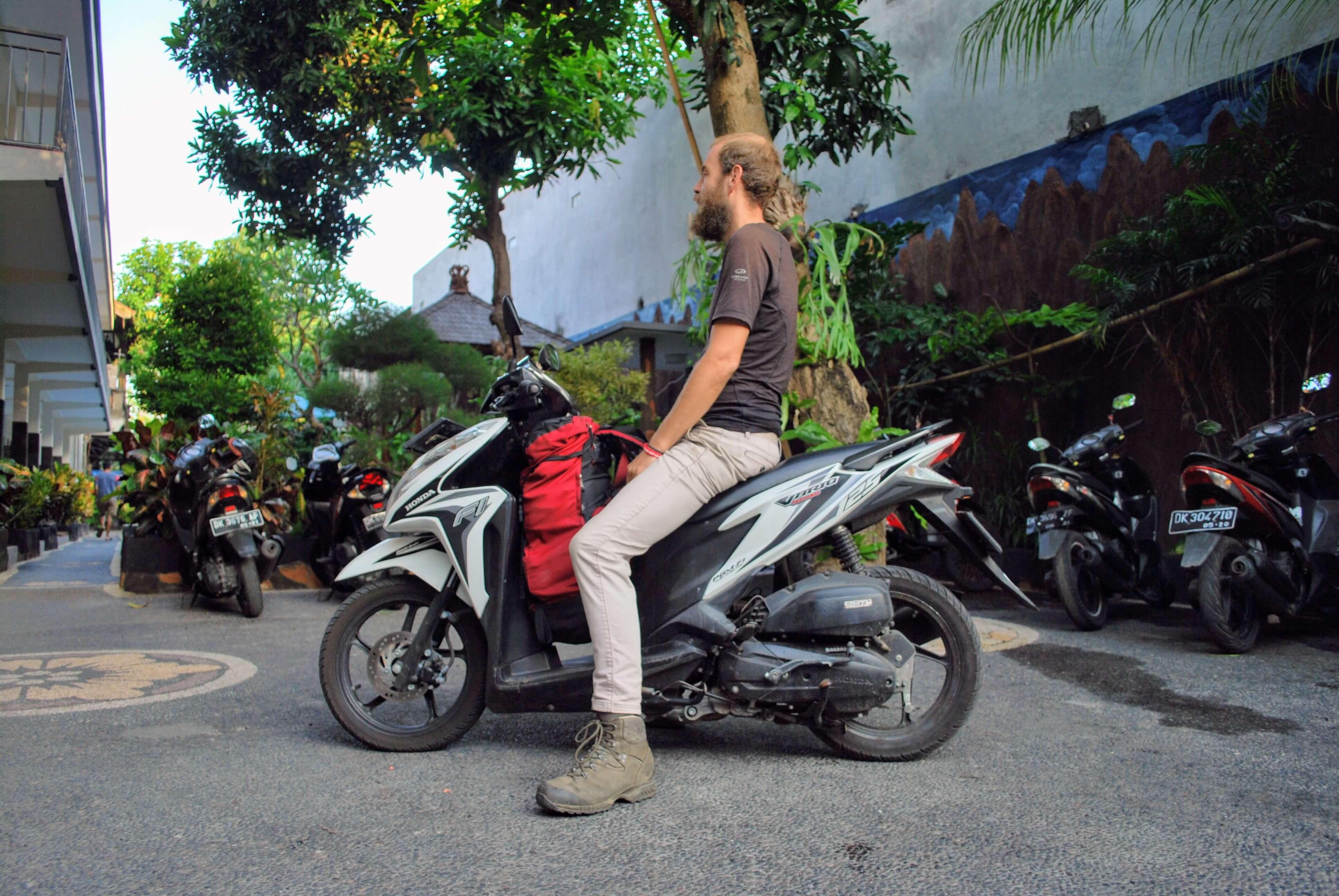 Motorbike Bali - renting a motorbike