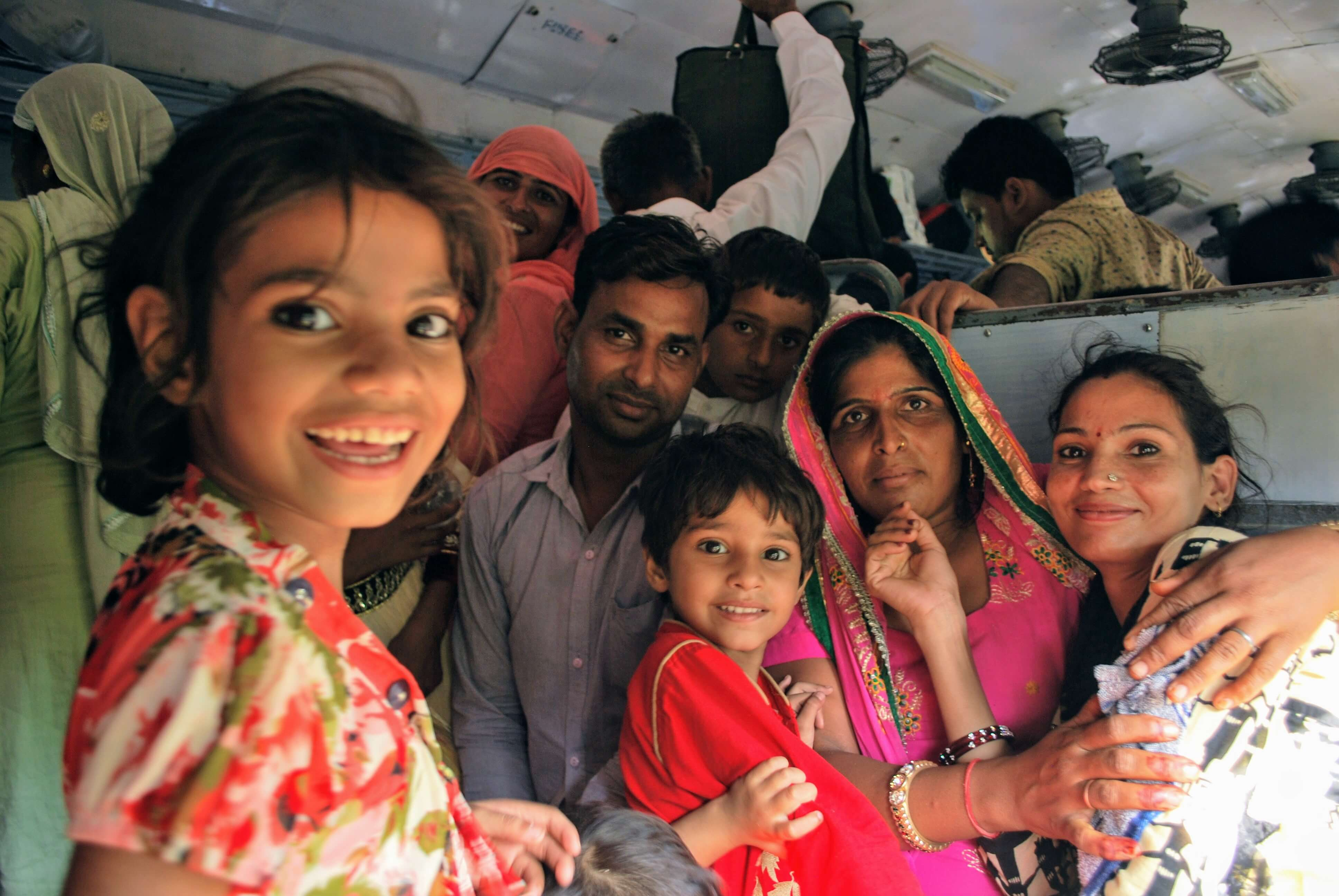 Travel on a budget - train travel in India