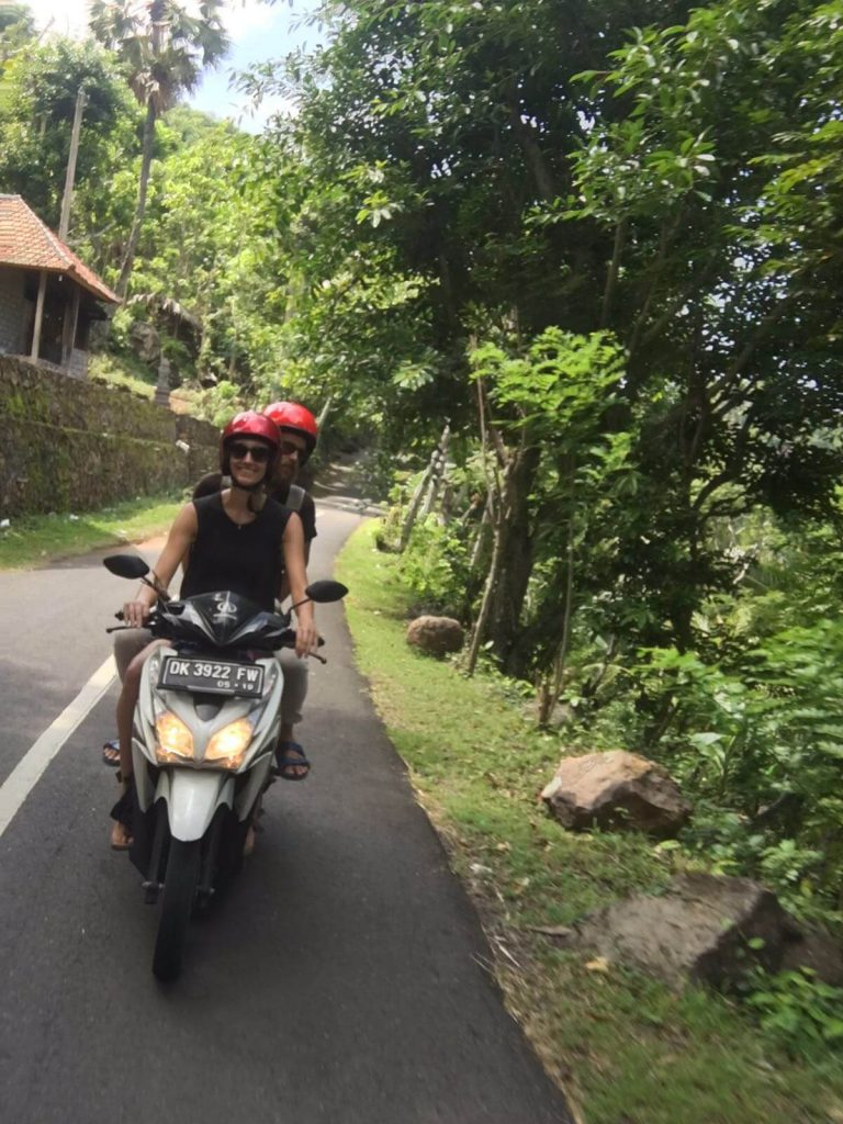 Motorbike Bali - on our way to Amed