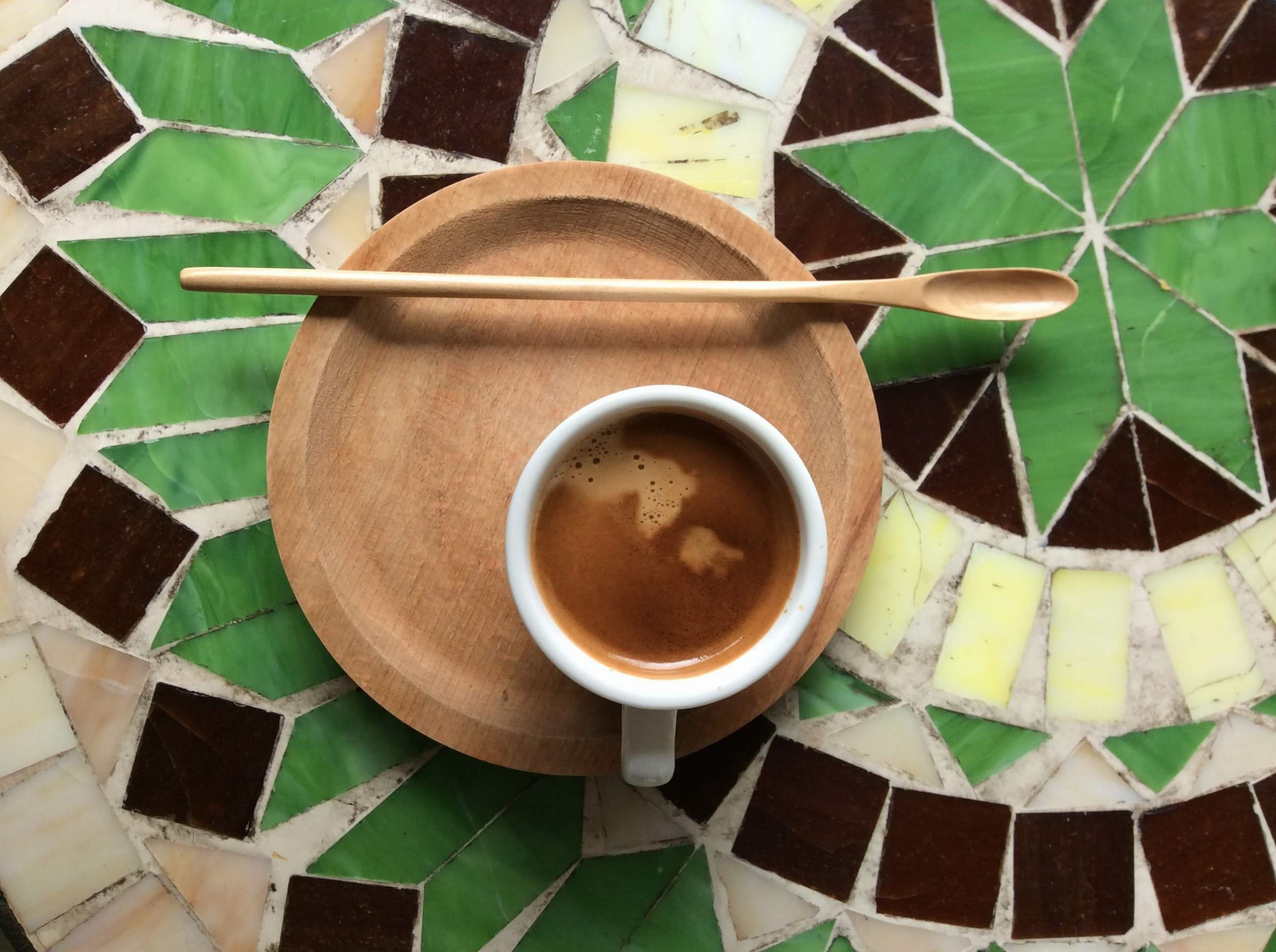 Travel on a budget - coffee