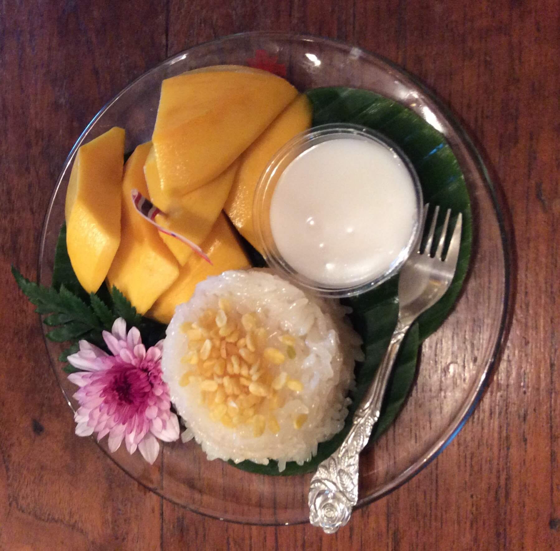 Things to do in Bangkok - sticky rice with mango