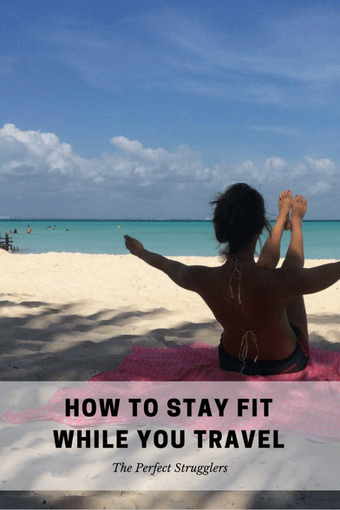 Travel exercise travel workout