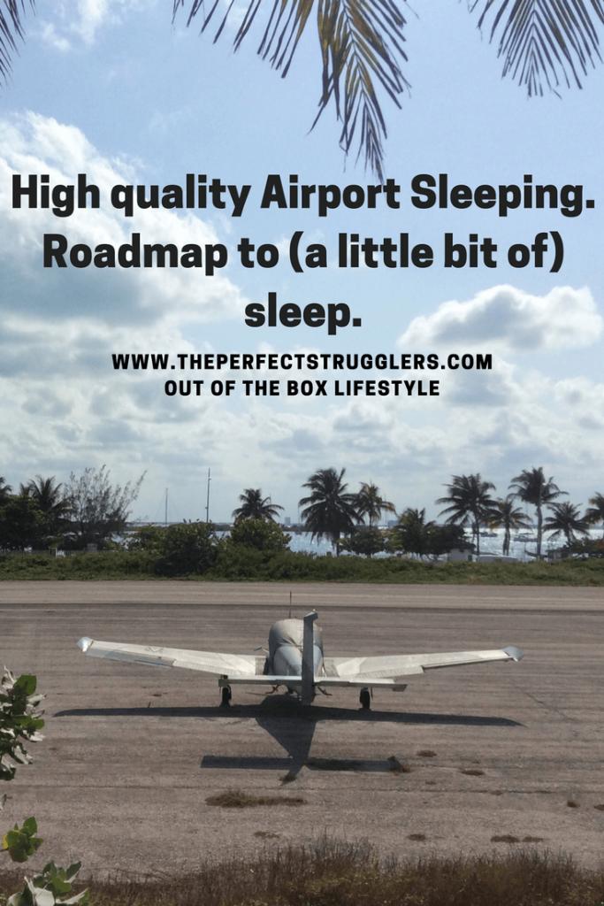 Meet the strugglers Airport sleeping