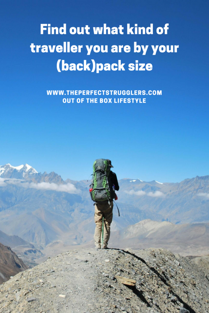 Backpack size - Travel bag
