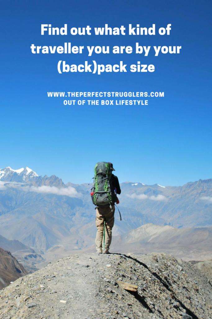 Backpack size - Travel bag