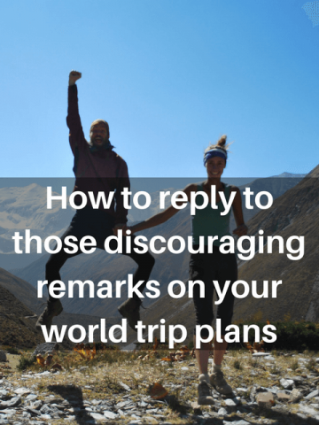 World trip benefits