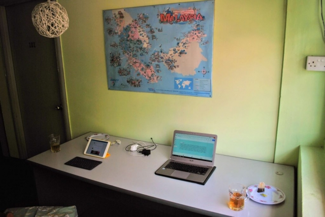 digital nomad - our first office