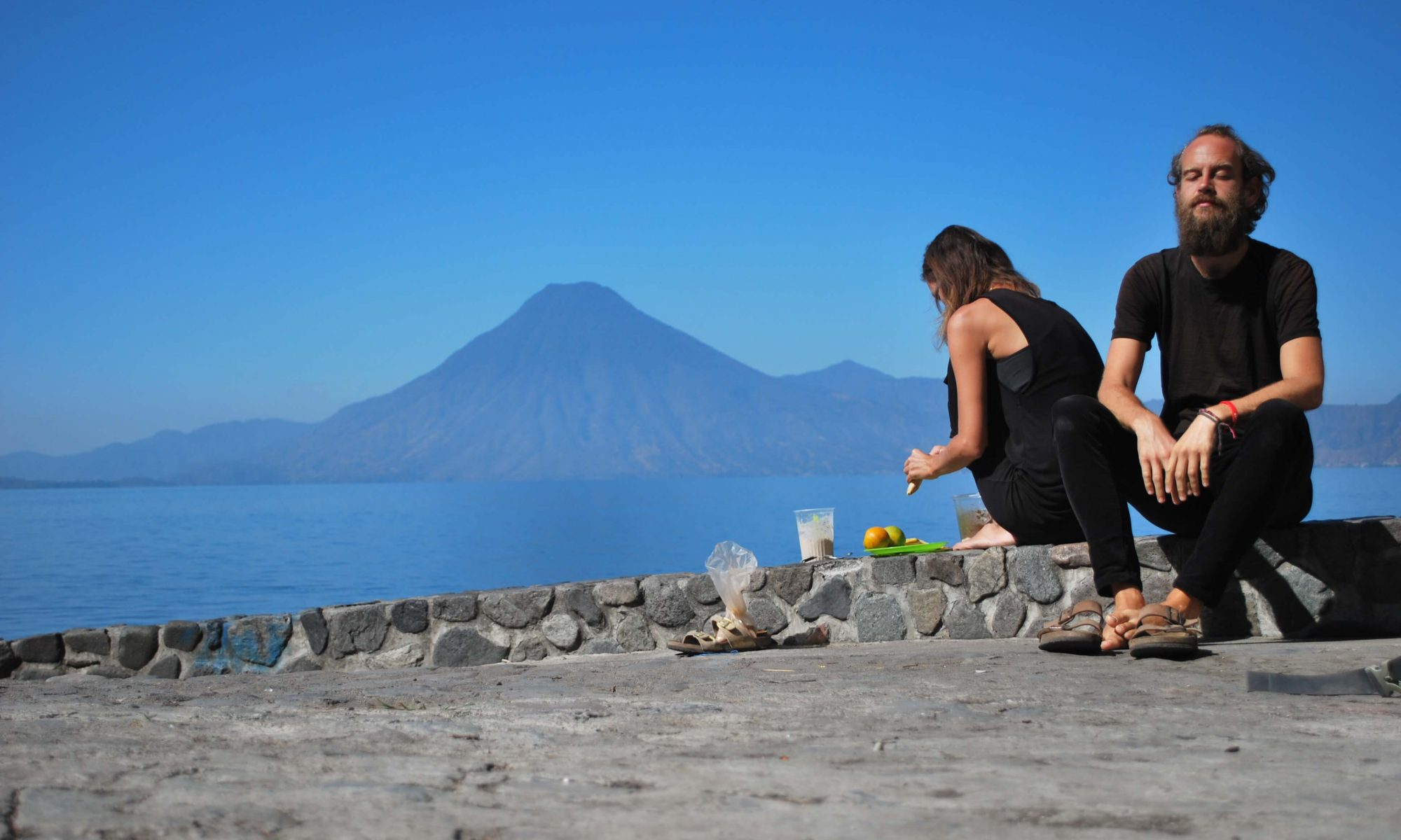 Meet theperfectstrugglers at Lake Atitlan