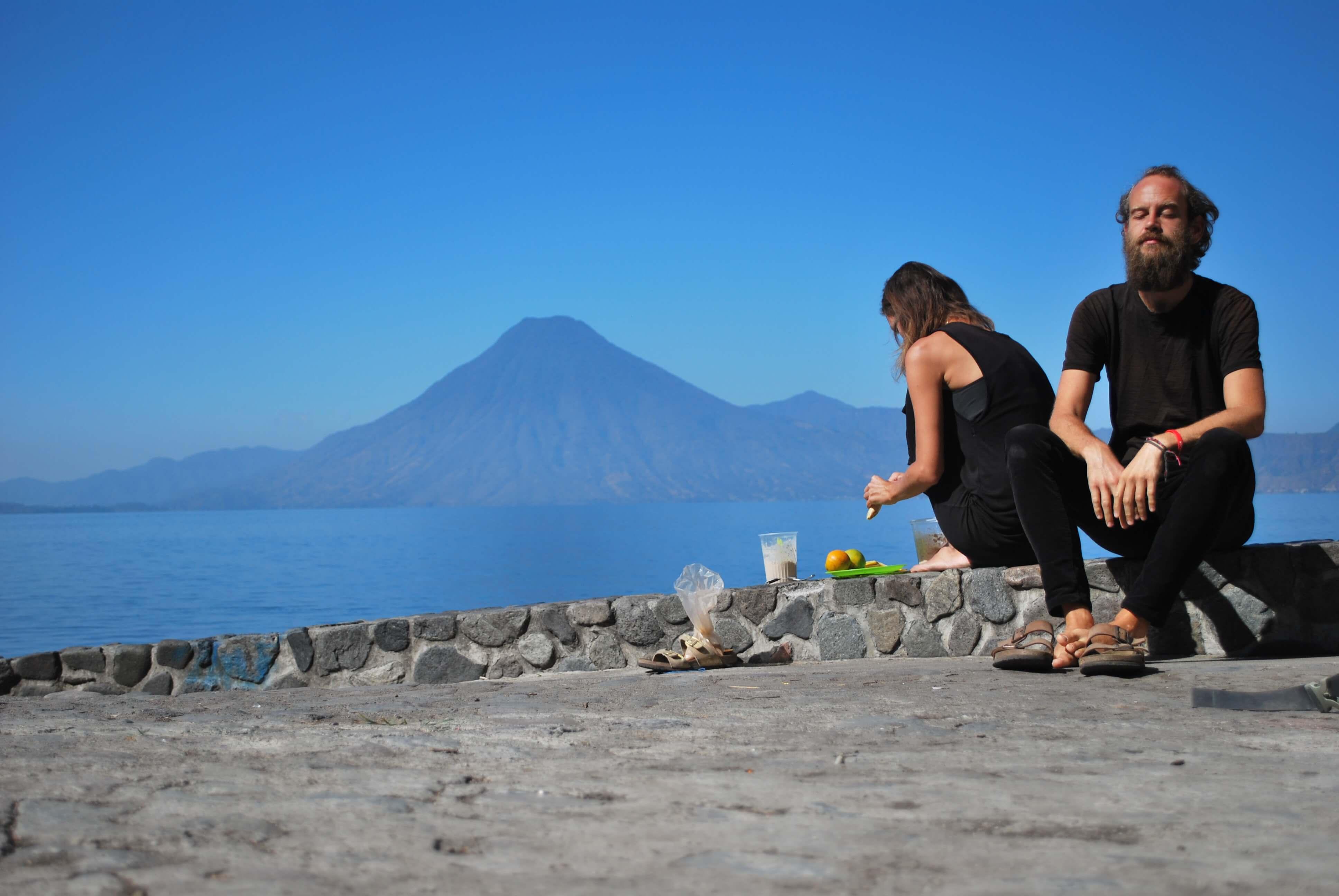 Meet theperfectstrugglers at Lake Atitlan